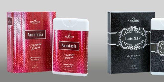 Majte svoj parfém stále pri sebe! 20 ml omamnej vône SANTINI do kabelky alebo do vrecka!