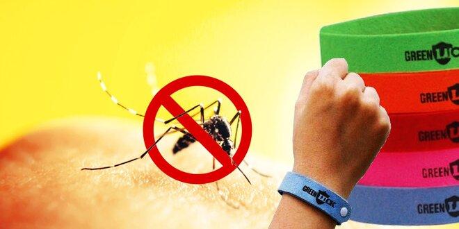 Adios komáre: repelentné náramky Green Luck