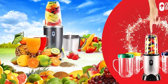 Smoothie mixer One touch bullet