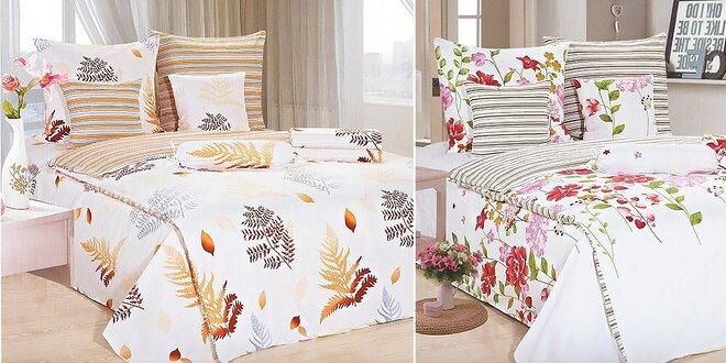 Moderná posteľná bielizeň – na výber 8 vzorov