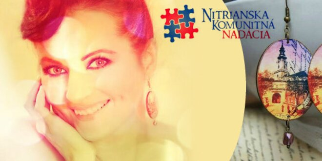 Náušničky pre Nitru
