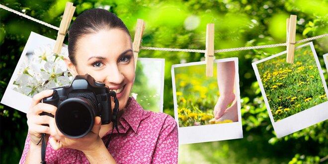 Vyvolanie 100 fotiek 10 × 15 cm alebo 11,5 × 15 cm