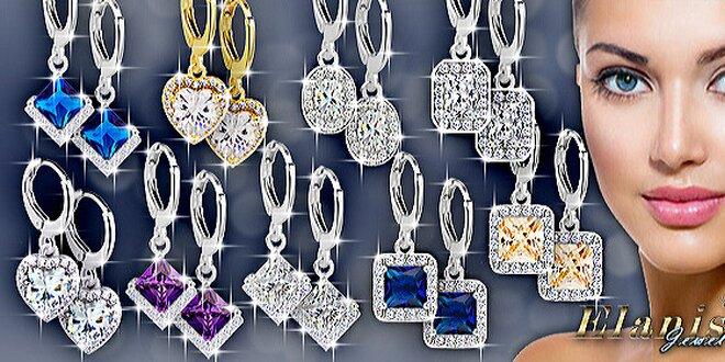 Rozprávkovo krásne náušnice Diamond Sparkle