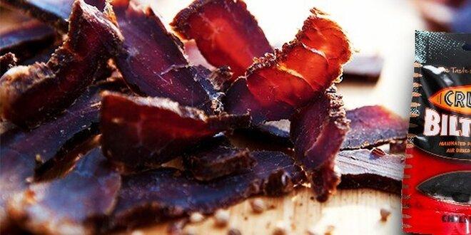 Prémiové sušené hovädzie mäso - Cruga Biltong