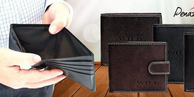 Značkové pánske kožené peňaženky  709ebc25683