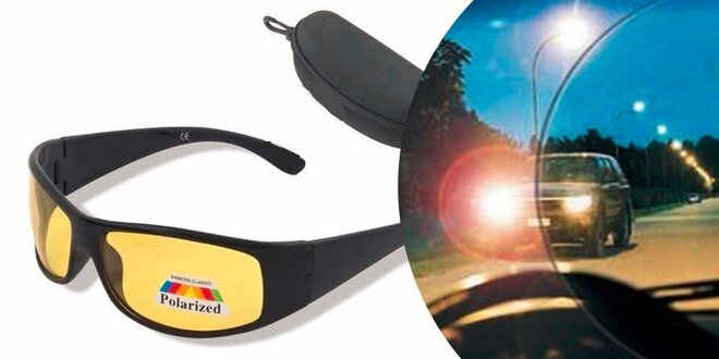 Polarizačné okuliare pre vodičov + obal ZADARMO  1fe8f3049b2