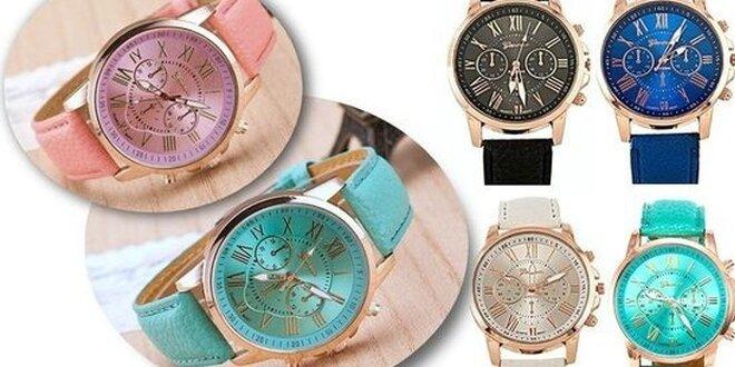 Nádherné dámske hodinky Geneva Platinum  f59c495338