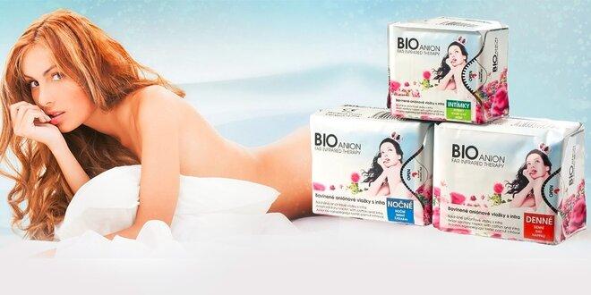 Antibakteriálne BIOanion® intímne vložky