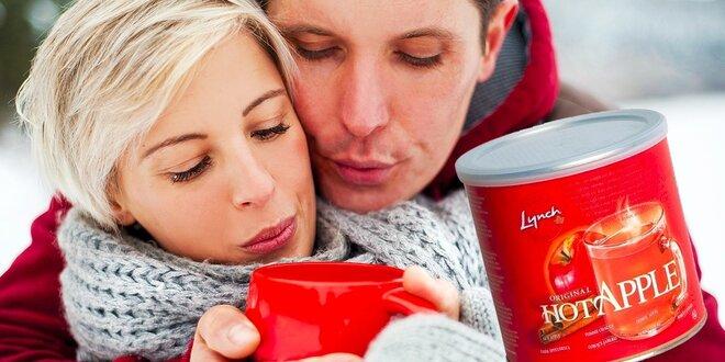 Obľúbené horúce nápoje HOT APPLE® na chladné večery