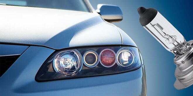 Halogénové autožiarovky do predných svetlometov