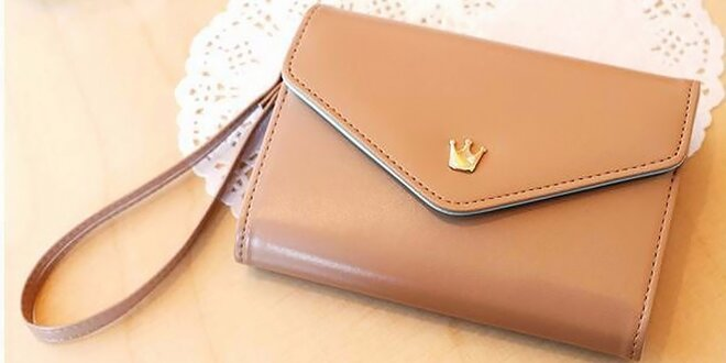 Kabelka, peňaženka i puzdro na mobil v jednom