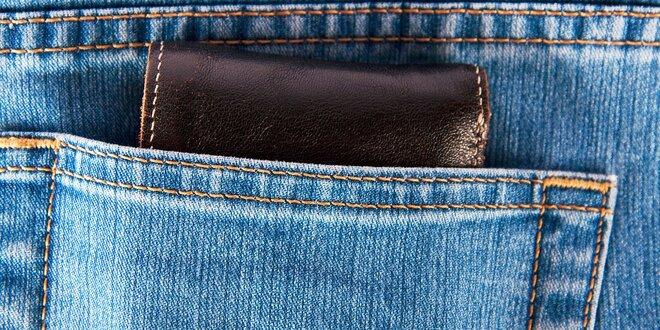 Kvalitná ručne vyrobená kožená peňaženka