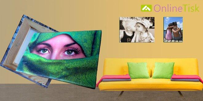 Fotoobraz na plátne na drevenom ráme