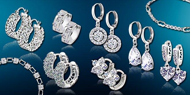 Luxusné náušnice a náramky LaDiamantina