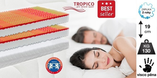 Matrace Tropico Visco Baron - bestseller!