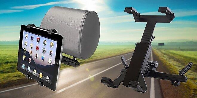Nastaviteľný držiak tabletu do auta