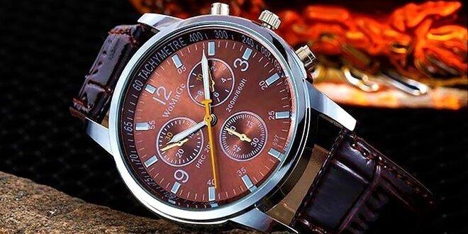 Elegantné pánske hodinky, na výber 4 farby.