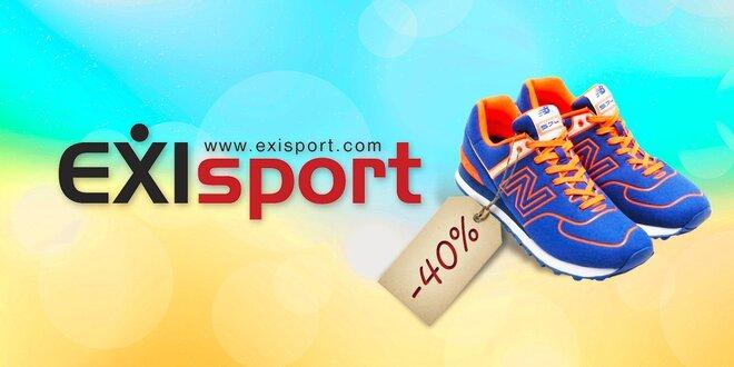 40% zľava na značku NEW BALLANCE v EXIsport