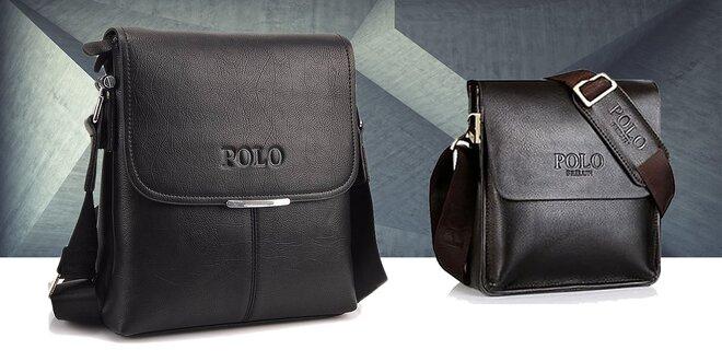 Štýlové pánske Polo tašky z pravej kože