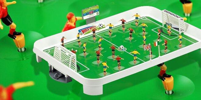 Stolný futbal pre malých aj veľkých