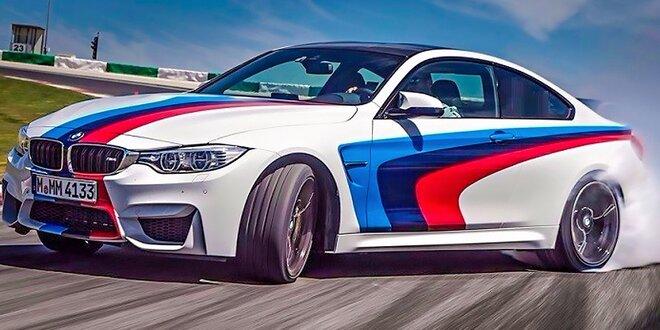 Jazda na BMW, Mitsubishi či Porsche