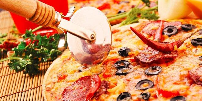 Pizza podľa výberu až z 26 druhov