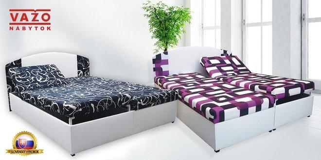 Kvalitné manželské postele od SK výrobcu