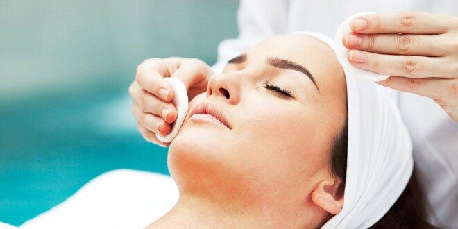 Čistenie pleti Skin Scrubberom + kyselina hyalurónová