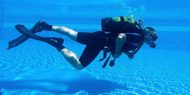 Potápanie s potápačským výstrojom