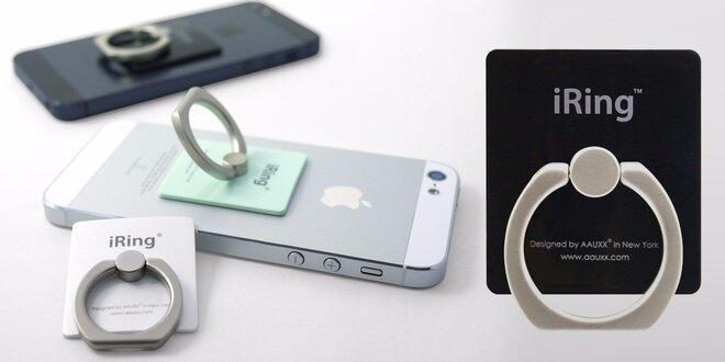 iRing geniálny prstienok proti pádom telefónu