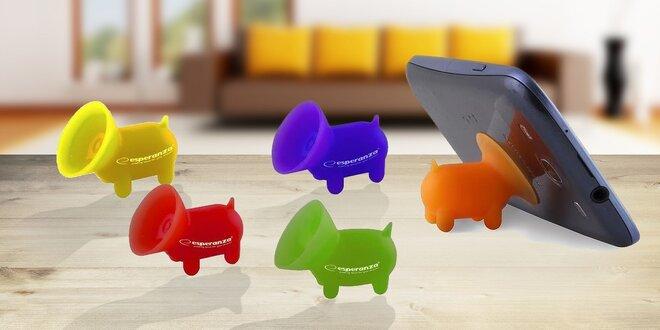 HIPPO silikónový stojan pre mobilný telefón či tablet