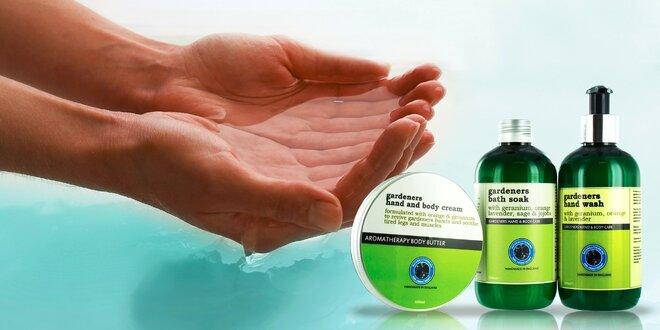 Gardeners tekuté mydlo a krém na ruky