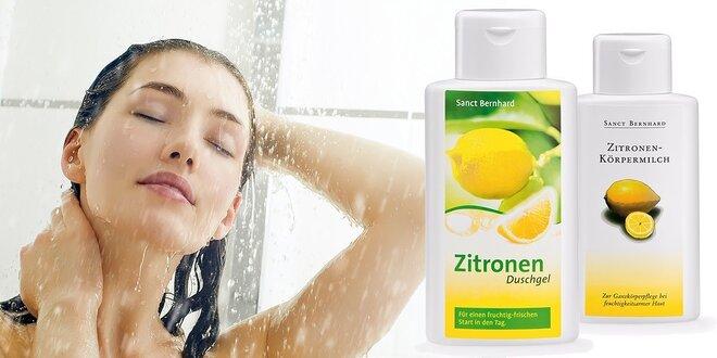 Citrónovo-olivový hygienický set