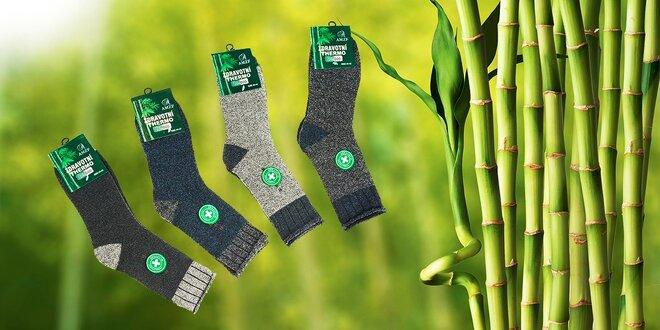 Pánske bambusové termo ponožky