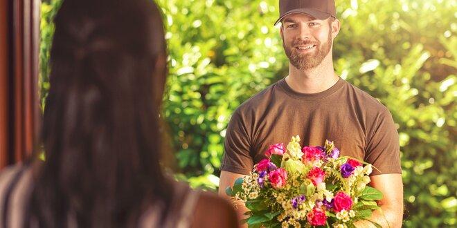 Romantické kytice s venovaním