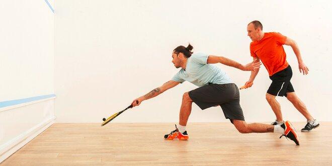 Prenájom squashového kurtu na hodinu či 5 vstupov