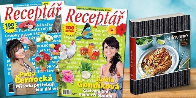 Časopis Receptář + Speciál a kuchárka