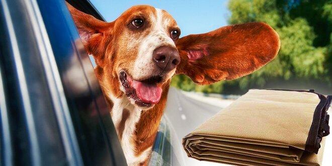 Deka do auta pre vášho domáceho miláčika