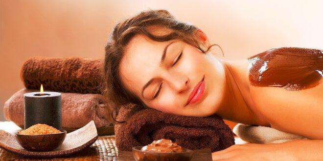 Masáže - klasická, myofasciálna, čokoládová (s kávovým peelingom a zábalom),…