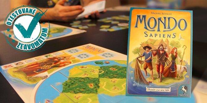 Spoločenská hra Mondo Sapiens zameraná na postreh a pohotovosť