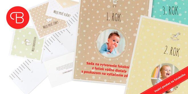 1. rok, 2. rok a 3. rok fotoknihy pre mamičky