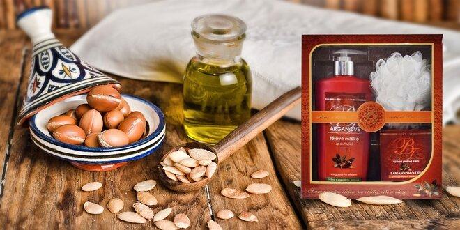 Darčekové kazety s arganovým olejom alebo levanduľovým olejom