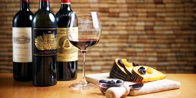 Profesionálna degustácia vín so somelierom WINE EXPERT