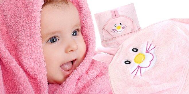 Detská osuška s kapucňou
