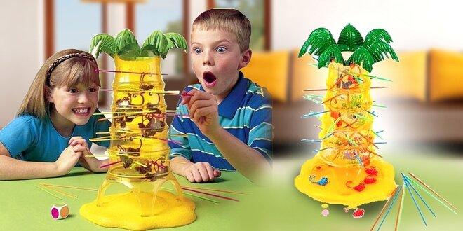 Zábavná hra pre celú rodinu Padajúca opica
