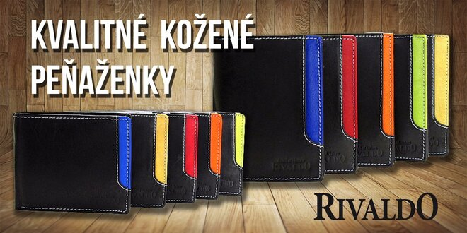 Rinaldo pánska kožená peňaženka