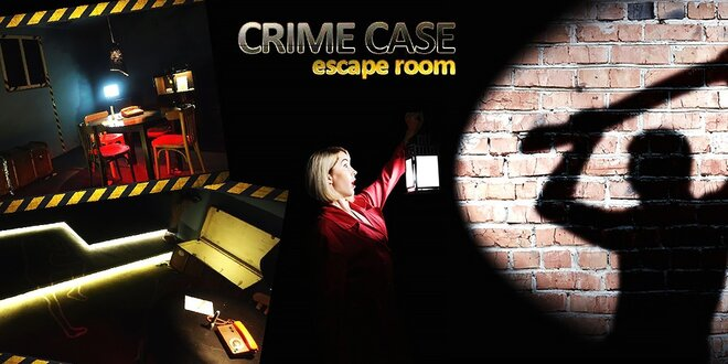 CRIME CASE - escape room - logická úniková hra