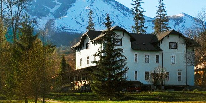 Štýlový historický Hotel Tatry*** v Tatranskej Lomnici + 1 dieťa do 12 rokov…