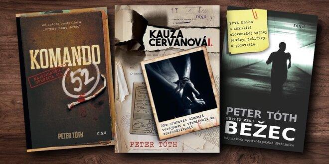 Dychvyrážajúca kolekcia kníh o praktikách SIS i kauze Cervanová