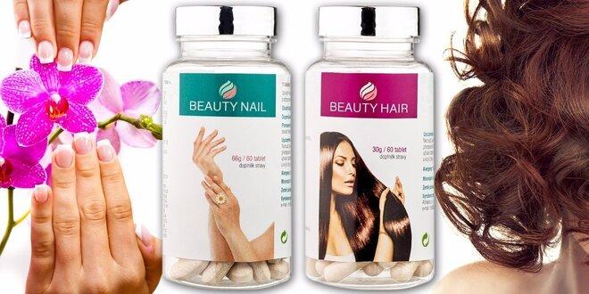Výživa pre podporu zdravého vývoja vlasov a nechtov